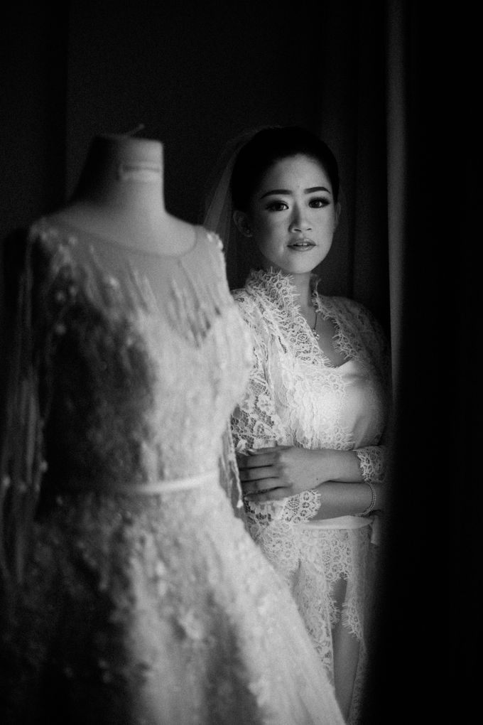 Ibnu & Michelle The Wedding by Imelda Hudiyono Bride - 004