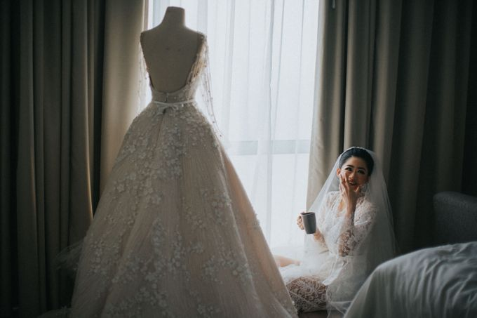 Ibnu & Michelle The Wedding by Imelda Hudiyono Bride - 005