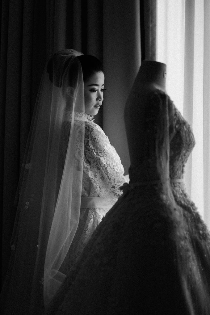 Ibnu & Michelle The Wedding by Bernardo Pictura - 014