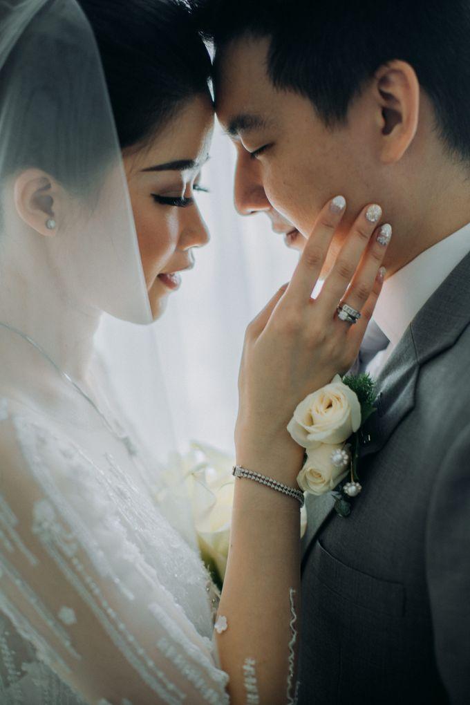 Ibnu & Michelle The Wedding by Imelda Hudiyono Bride - 007