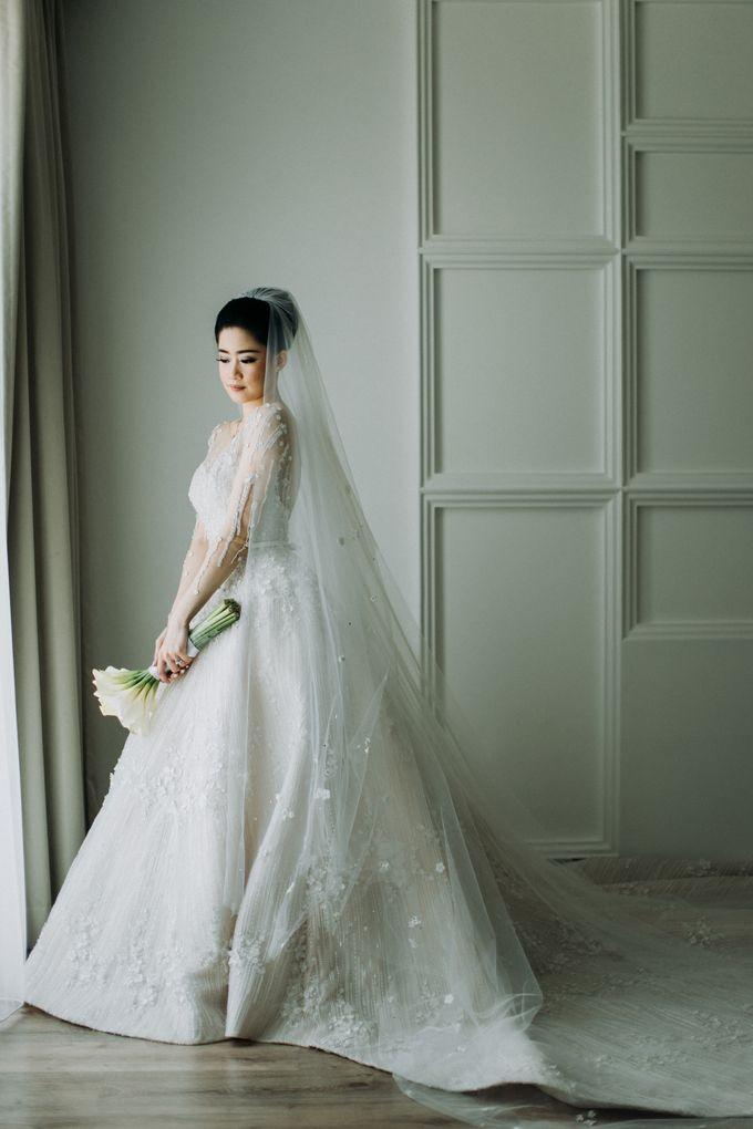Ibnu & Michelle The Wedding by Imelda Hudiyono Bride - 008