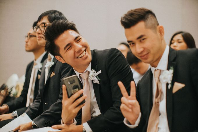 Ibnu & Michelle The Wedding by Bernardo Pictura - 022