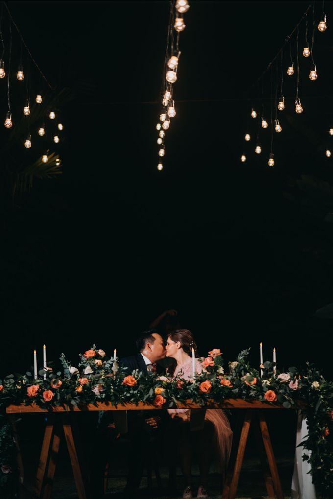 Sweet Rustic Wedding at New Kuta Golf & Villa Bayu Bali by Silverdust Decoration - 004