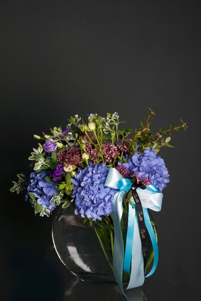 Flora Styling in vase by Beato - 037