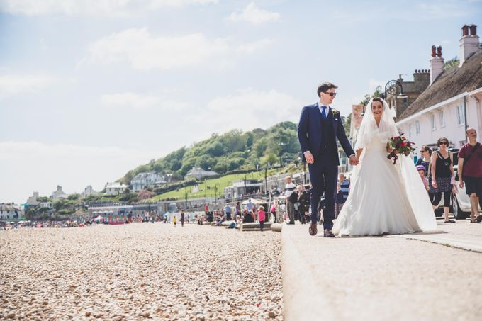 Clare and Ben's Marine Theatre wedding, Lyme Regis by Andrew George Photography - 025