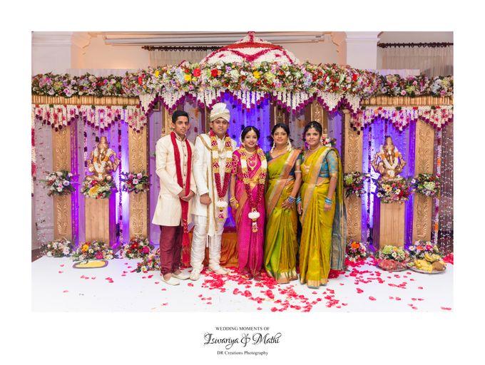 Wedding of Ishwariya & Mathi by DR Creations - 025
