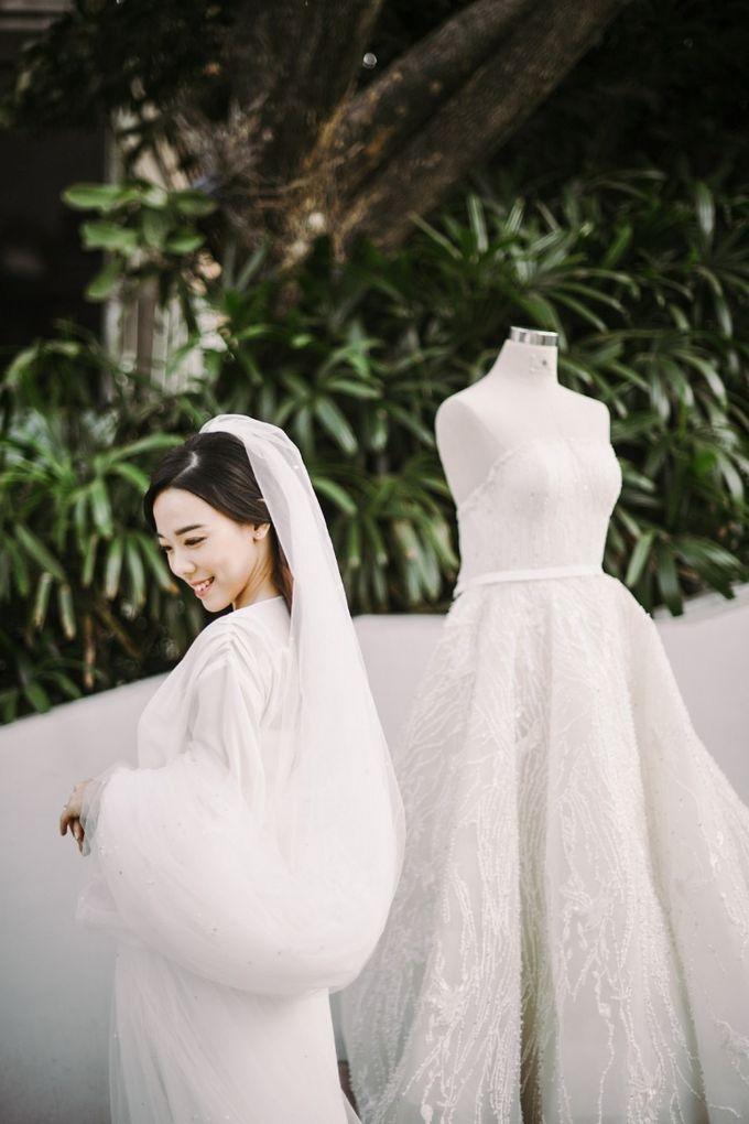 The Wedding of Maya & Deddie by Posy & Poetry - 001