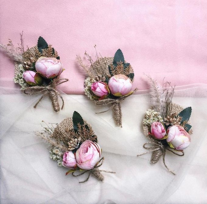 Boutonniere & Corsage by Rose For You - 026