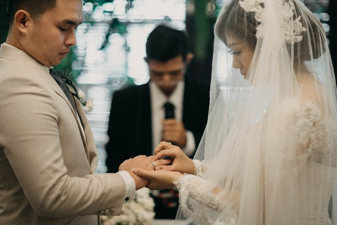 DAVID & FELICIA WEDDING by DHIKA by MA Fotografia - 026