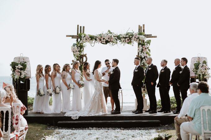 Mindy & Cameron Wedding at W Hotel Bali by AKSA Creative - 026