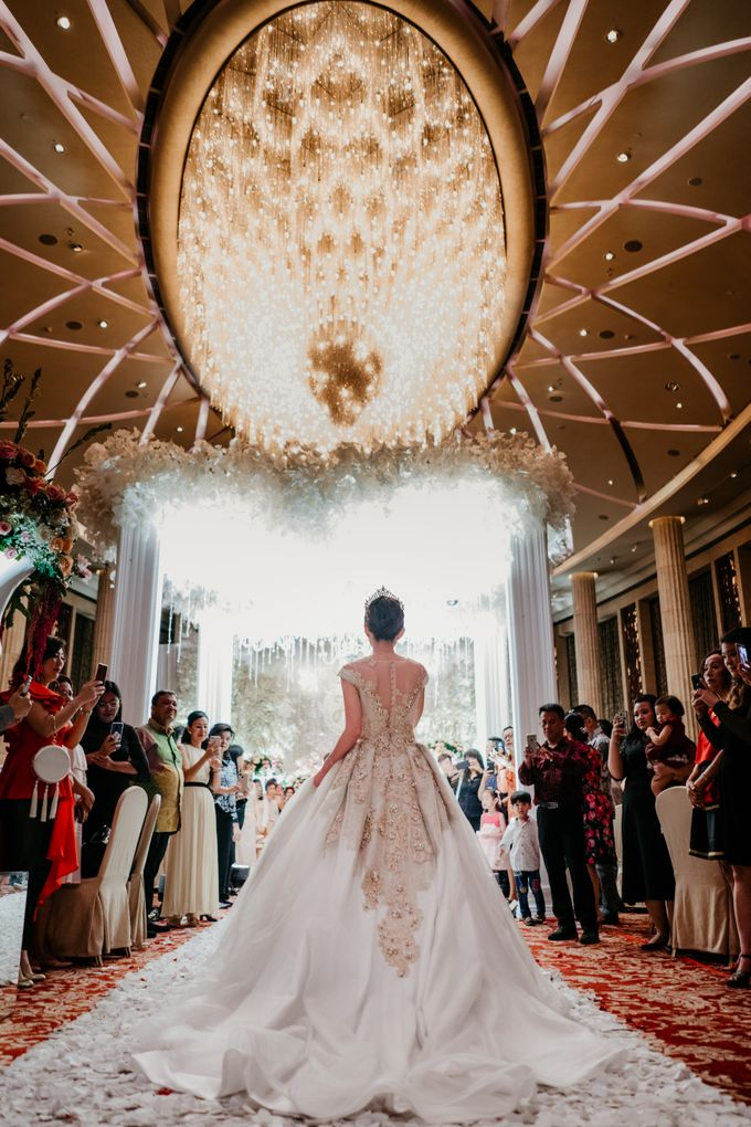 The Wedding of Leon & Audrey by Hotel Indonesia Kempinski Jakarta - 025