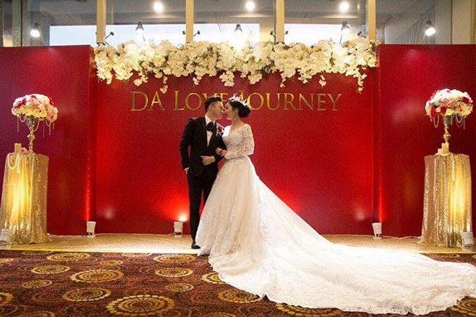 Wedding decoration by Less Than Three Wedding - 007