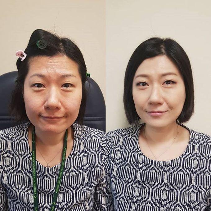 Bridal makeup by Jinnie Lee Korean Makeup & Hair - 003