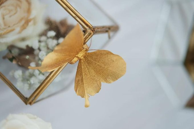 Elegance White on Gold by magical blossoms - 003