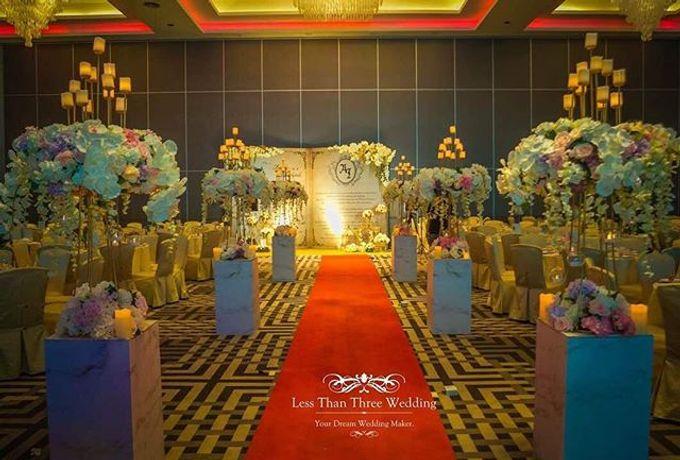 Wedding decoration by Less Than Three Wedding - 006