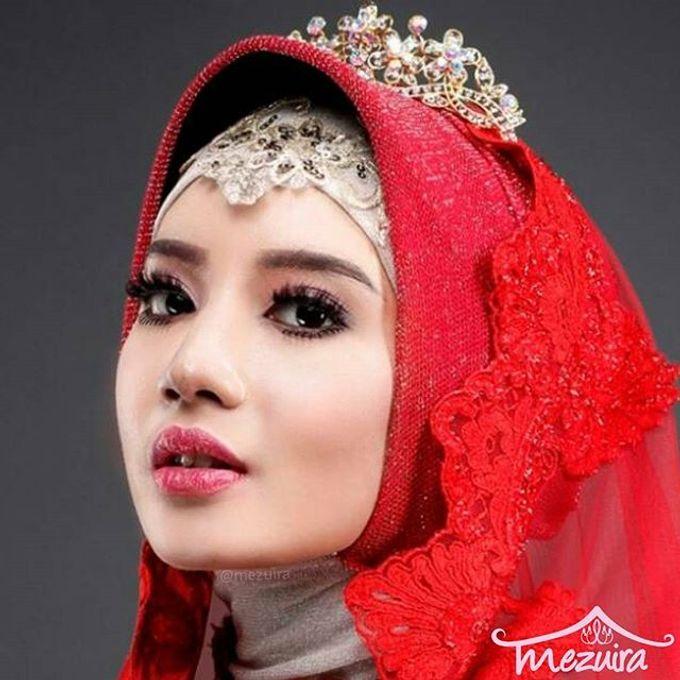 Muslim Modern Bridal (Simple Elegant) by Mezuira MakeUp & Hijab Style - 003