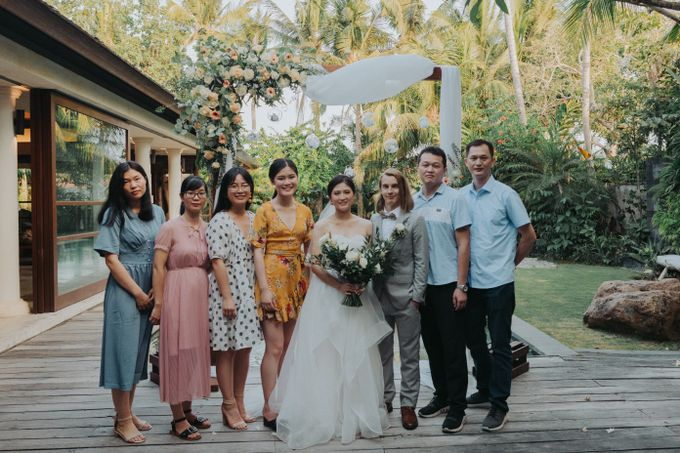 Intimate Wedding in Canggu by Silverdust Decoration - 039