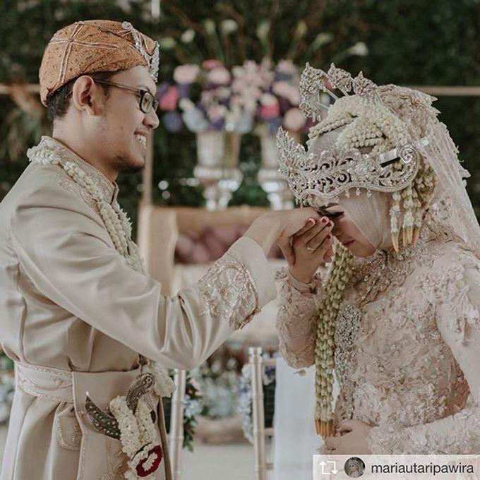 Maria & Auni by Ans Wedding Service & Priyan Decor - 002