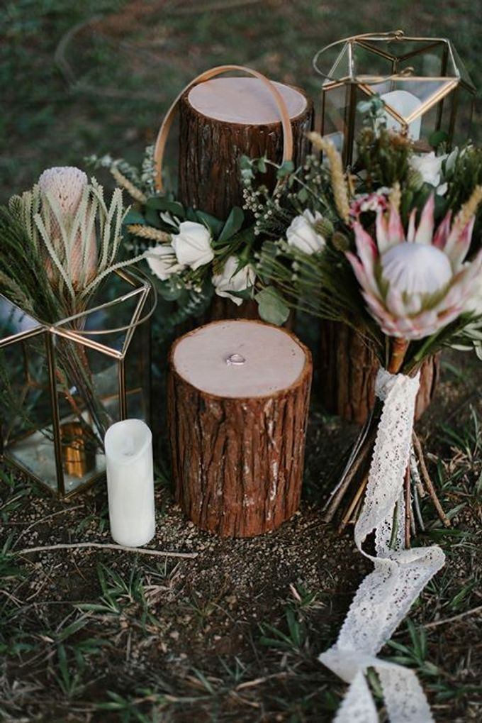 Earthy Bohemian Styled Shoot by Amperian - 030