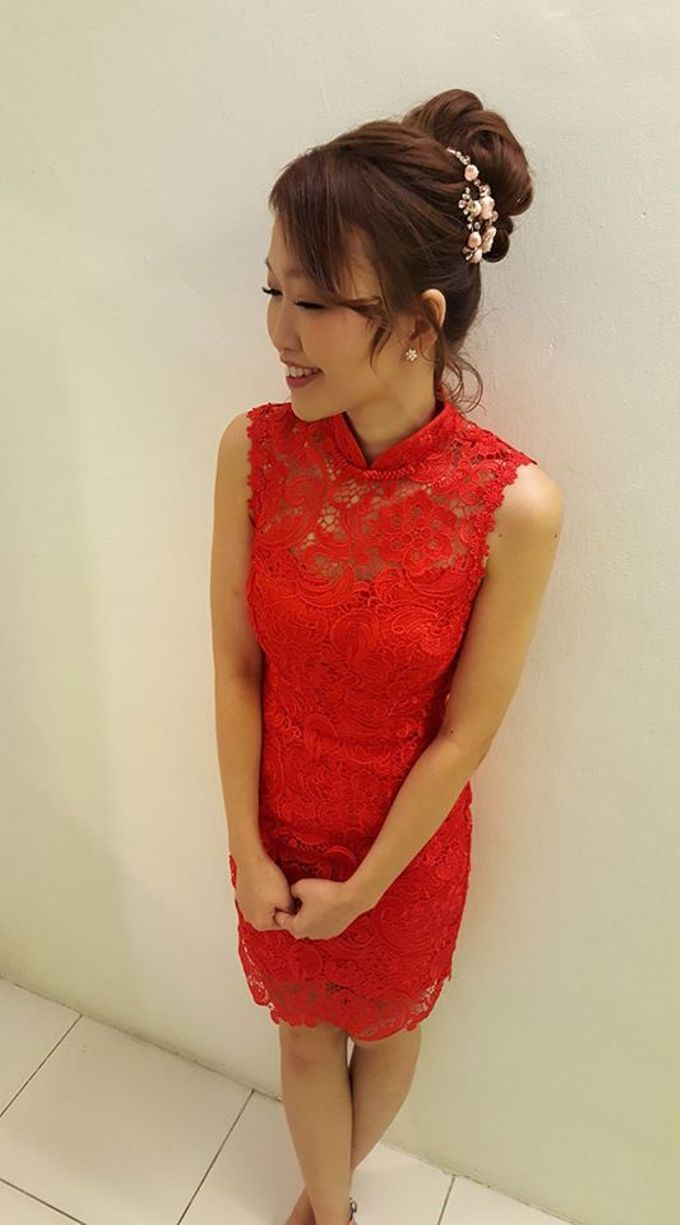 ALLY CHOONG BRIDAL MAKE UP & HAIR STYLING by Ally Choong . Make Over - 026