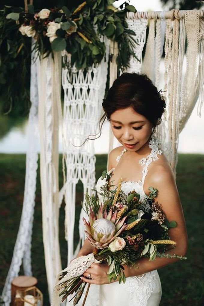 Earthy Bohemian Styled Shoot by Amperian - 002