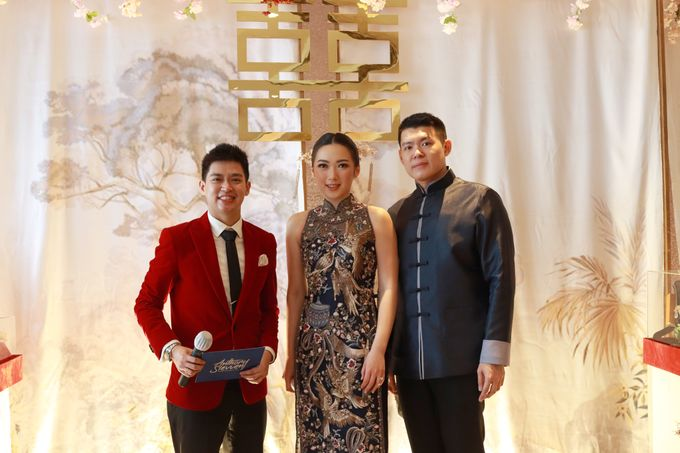 Sangjit House Of Yuen Hotel Fairmont Jakarta - MC Anthony Stevven by NOMA Jewelry & Accessories - 002