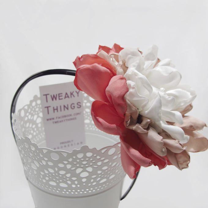 Fabric flower - Headband by TweakyThings - 002