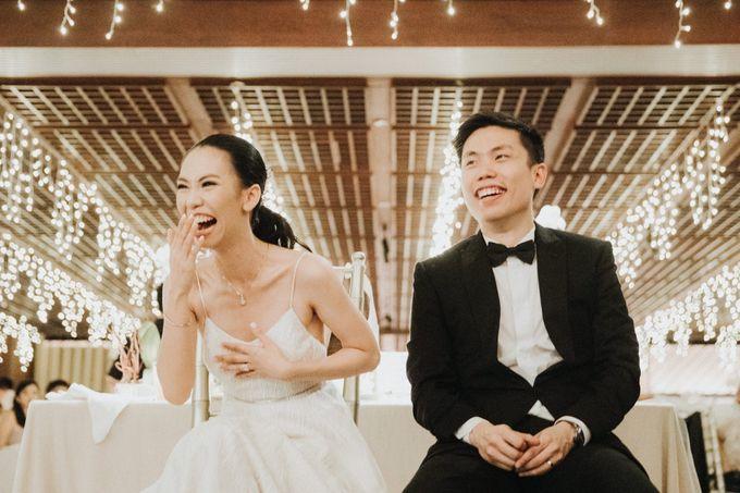 Kate & Marvin - Tirtha Uluwatu Bali Wedding by ILUMINEN - 025