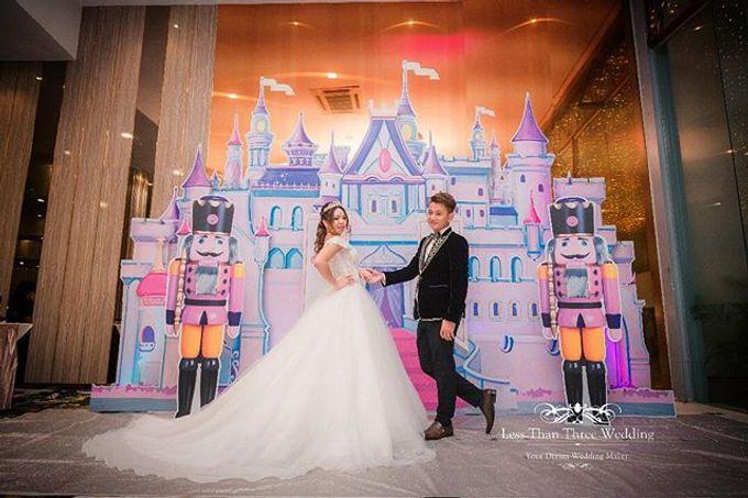 Wedding decoration by Less Than Three Wedding - 002