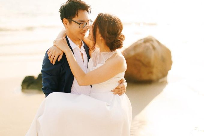 Beach and Nature Prewedding Rayong Thailand by Kanvela - 012