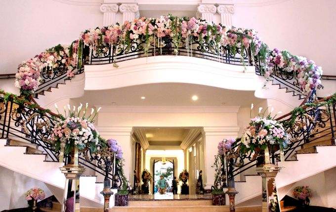 The Wedding of Putri and Luigi by Amarillis Floral and Party Decorator - 006