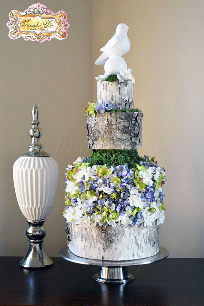 Wedding Cakes by Innicka Dee Cakes - 029
