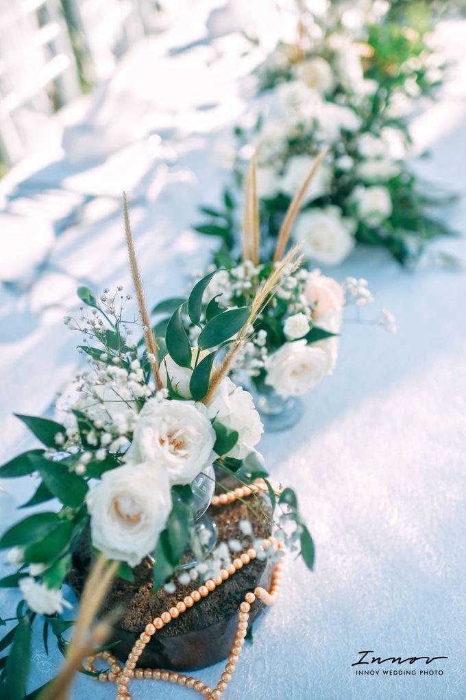 THE WEDDING Of  Mr KARLPEMER & Ms Susiani Retno by APLUS DECORATION & WEDDING PLANNER - 016