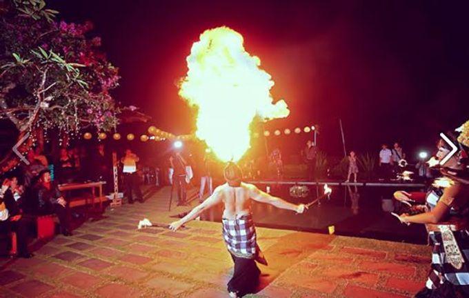 FIRE DANCE by Bali Wedding Entertainment - 001