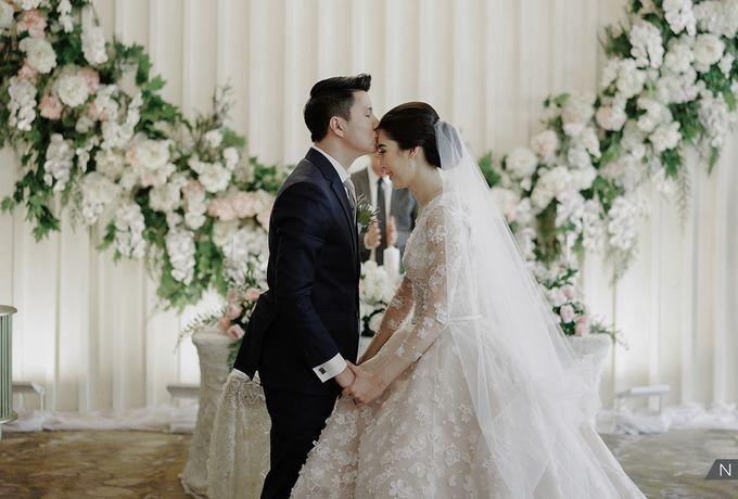 Felix & Hanna Wedding by Shangri-La Hotel - 028