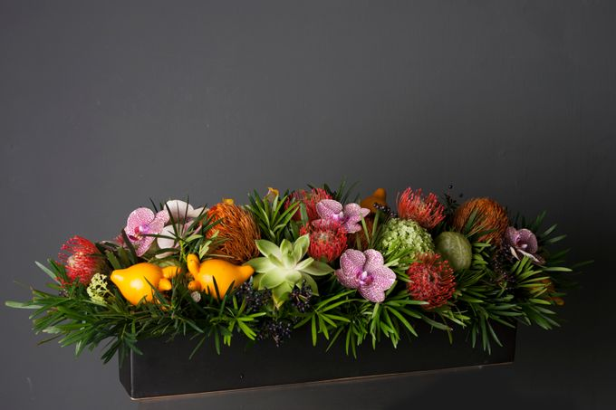 Flora Styling in vase by Beato - 039