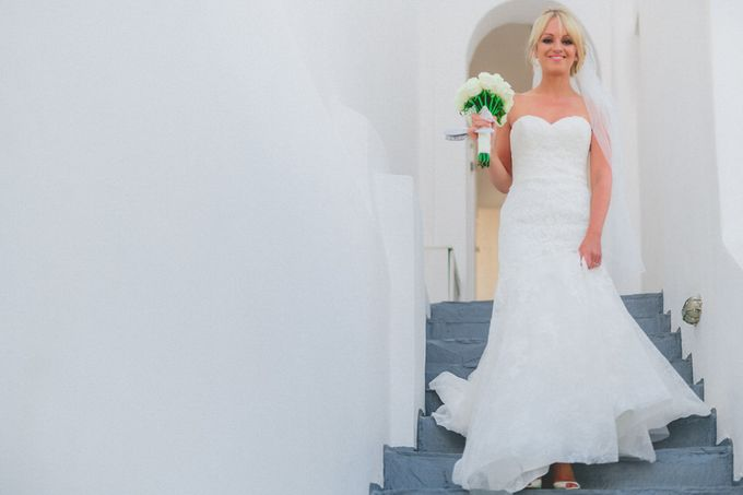 An elegant off white and peach wedding by MarrymeinGreece - 041