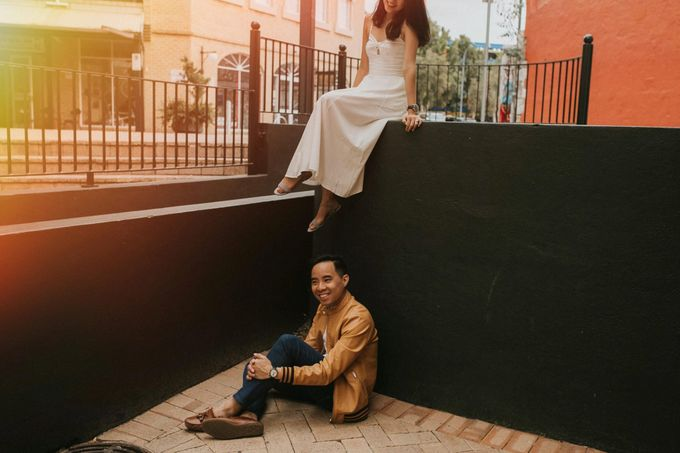 Inka & Jon - Perth Prewedding by ILUMINEN - 030