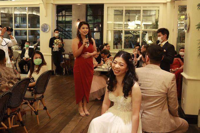 MC Wedding Intimate at Blue Jasmine Jakarta - Anthony Stevven by Anthony Stevven - 028