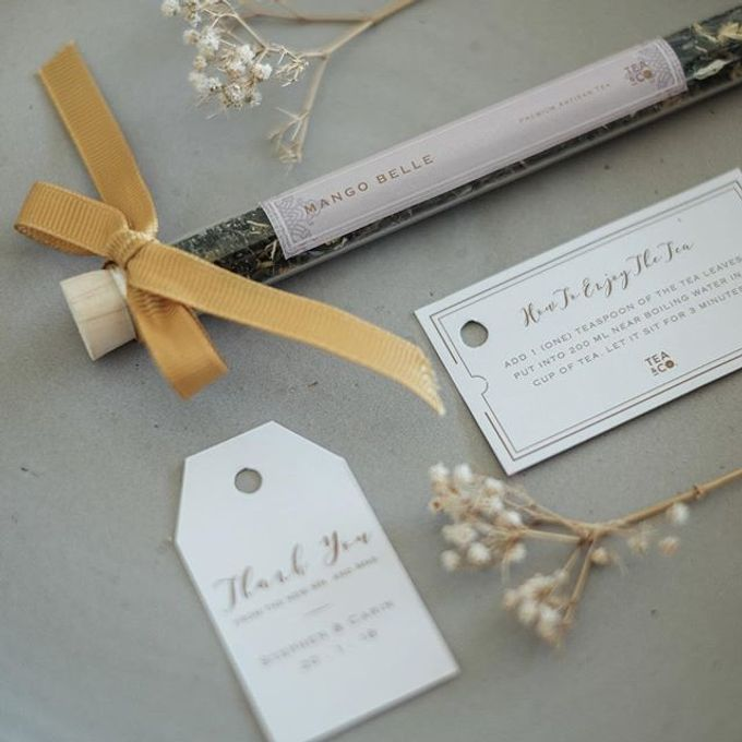 the wedding of Stephen and Carin by Tea & Co Gift - 001