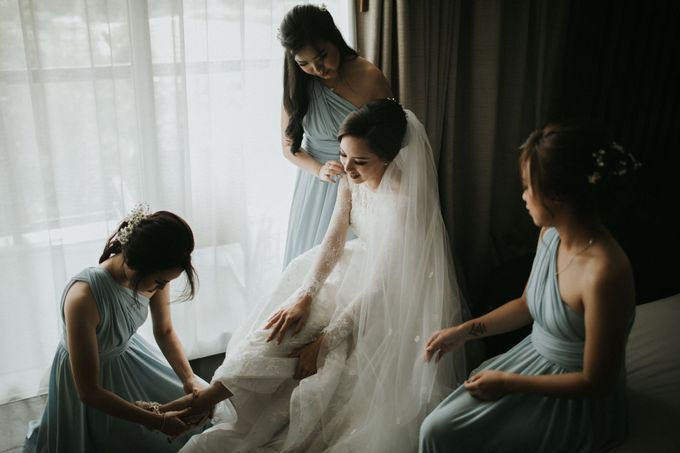 Sisca & Bob Wedding at Sofitel Nusa Dua - Bali by ILUMINEN - 011