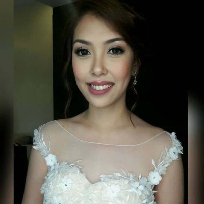 Beautiful Bride by Make up by Janine Tejing - 006