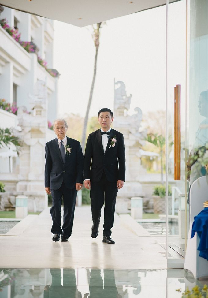 Wedding of Vina & Simon by Hilton Bali Resort - 009