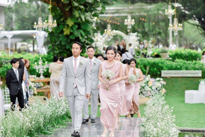 BETHILA & OBED by Raffles Hills Cibubur - On Green Garden Venue - 004