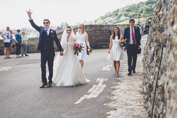 Clare and Ben's Marine Theatre wedding, Lyme Regis by Andrew George Photography - 027