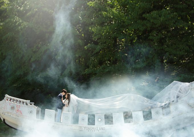 Korea Pre-Wedding Photoshoot - Studio 29 by Willcy Wedding by Willcy Wedding - Korea Pre Wedding - 018