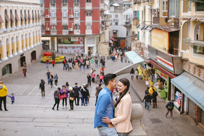 Silver and Jenn Macau Engagement Session by Leighton Andante - 033
