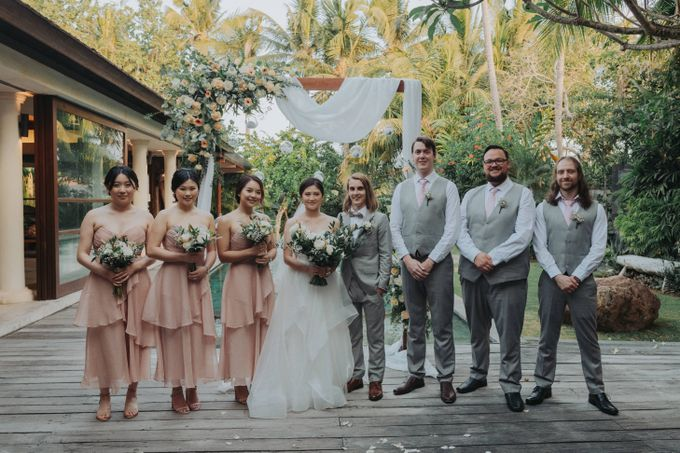 Intimate Wedding in Canggu by Silverdust Decoration - 047