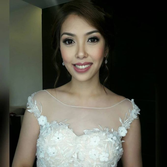 Beautiful Bride by Make up by Janine Tejing - 005