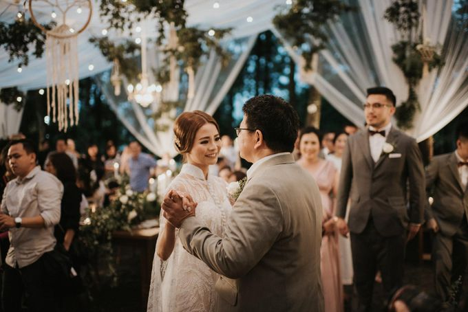 Mega & Alfred Wedding at Gunung Pancar Bogor by ILUMINEN - 031